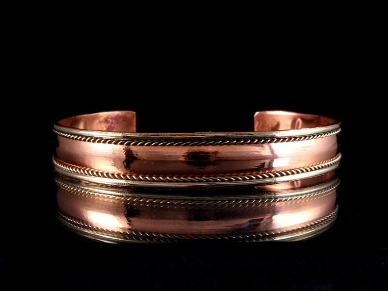 brd121 bracelet tib tain cuivre laiton m tal argent bracelet nepal bracelet tibet bijou. Black Bedroom Furniture Sets. Home Design Ideas