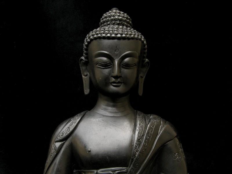 st23 statue bouddha astamangala signes auspicieux du bouddhisme statue tibetaine artisanat. Black Bedroom Furniture Sets. Home Design Ideas