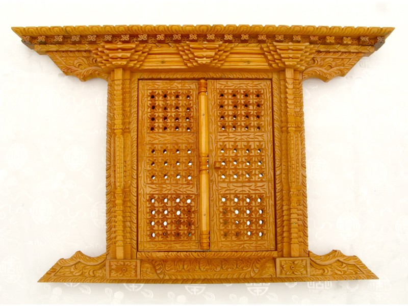 Mir08 miroir fen tre n palaise miroir tibetain for Miroir forme fenetre