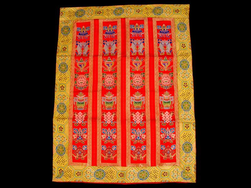 bb77 rideau de porte tib tain tenture tib taine signes auspicieux d co bouddhiste banni re. Black Bedroom Furniture Sets. Home Design Ideas