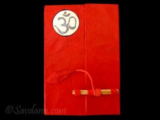 CrA65 Carnet Artisanal Népalais Om