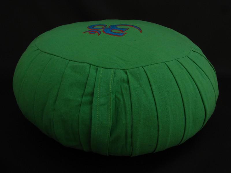 zafu18 zafu coussin de m ditation om artisanat tib tain coussin yoga. Black Bedroom Furniture Sets. Home Design Ideas
