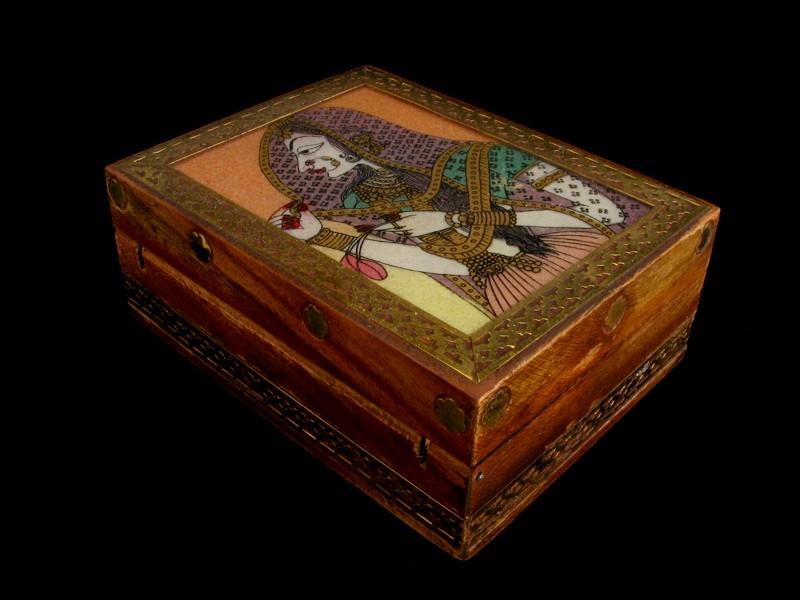 bb05 boite bijoux artisanat du n pal artisanat du tibet. Black Bedroom Furniture Sets. Home Design Ideas