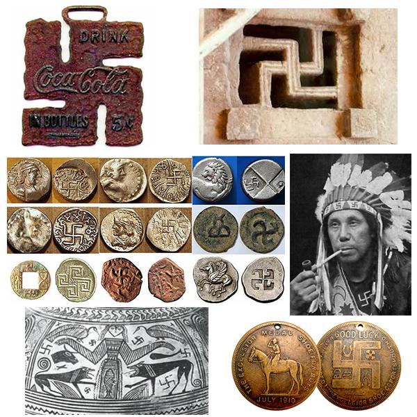 Swastika dans le monde