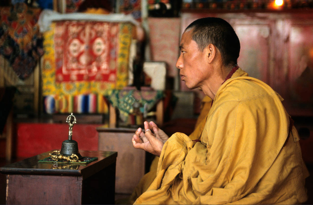 Consécration Buddhisme Moine