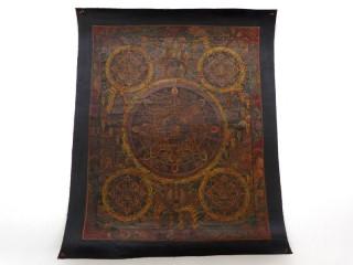PNT09 Thangka (Peinture Tibétaine)
