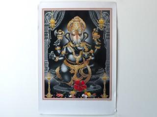 AF100 Affiche du Népal Ganesh