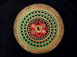 TSrt54 T-Shirt Mantra Mandala