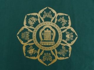 TSrt43 T-Shirt Mandala Signes Auspicieux Kalachakra