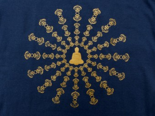 TSrt47 T-Shirt Bouddha Dorje