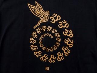 TSrt51 T-Shirt Om Yeux de Bouddha