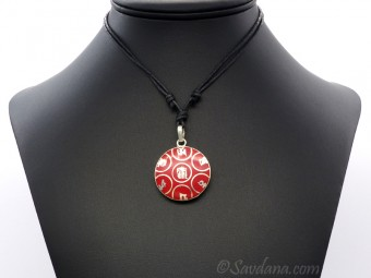 CD131 Collier Tibétain Mantra Kalachakra