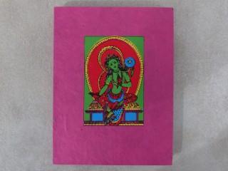 CrA97 Carnet Artisanal Népalais Tara
