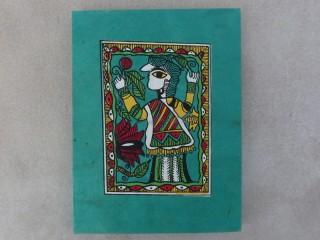 CrA145 Carnet Artisanal Népalais Art Mithila