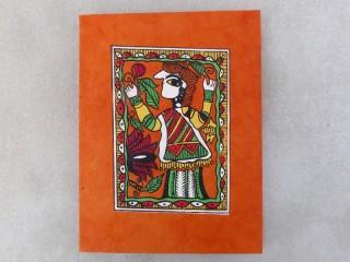 CrA146 Carnet Artisanal Népalais Art Mithila