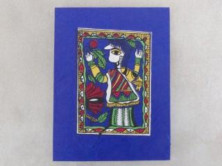CrA148 Carnet Artisanal Népalais Art Mithila
