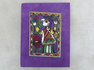 CrA149 Carnet Artisanal Népalais Art Mithila