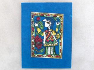 CrA151 Carnet Artisanal Népalais Art Mithila