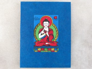 CrA175 Carnet Artisanal Népalais Bouddha