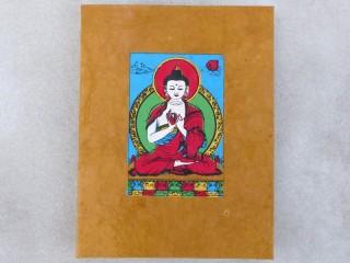 CrA176 Carnet Artisanal Népalais Bouddha