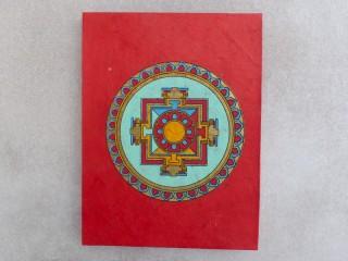 CrA177 Carnet Artisanal Népalais Mandala