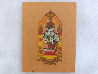 CrA180 Carnet Artisanal Népalais Ganesh