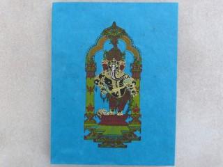 CrA182 Carnet Artisanal Népalais Ganesh