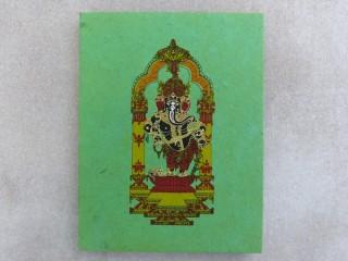 CrA183 Carnet Artisanal Népalais Ganesh