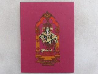 CrA185 Carnet Artisanal Népalais Ganesh