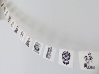 DP30 Guirlande Têtes de Mort