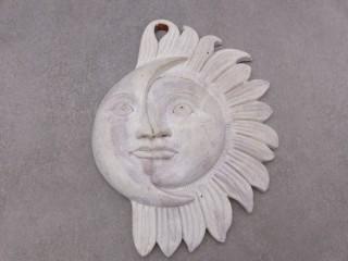 TCC49 Soleil et Lune en Terre Cuite