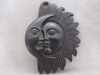 TCC50 Soleil et Lune en Terre Cuite