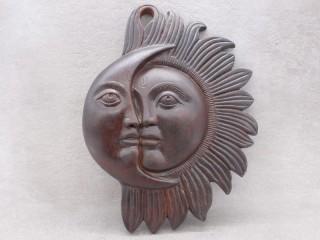 TCC51 Soleil et Lune en Terre Cuite