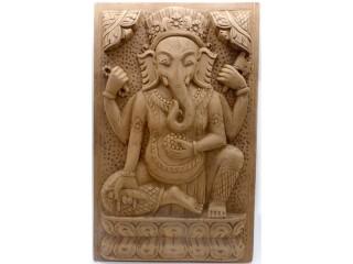 Div86 Sculpture Ganesh Bois Exotique