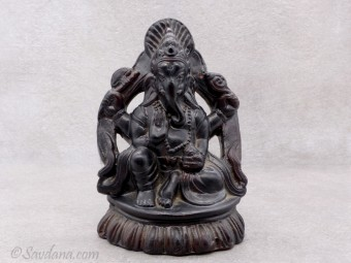 TCC75 Ganesh en Terre Cuite