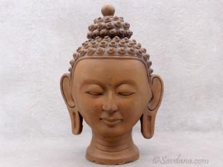 TCC85 Bouddha en Terre Cuite