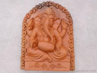 TCC116 Ganesh en Terre Cuite