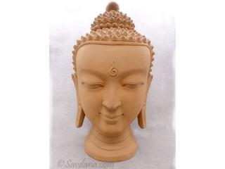 TCC118 Bouddha en Terre Cuite