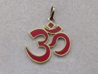 P91 Pendentif Tibétain Om