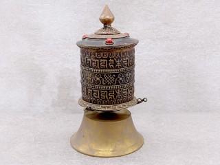RP111 Moulin à Prières Tibétain Mantra Astamangala