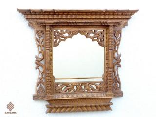 Mir05 Miroir Fenêtre Népalaise