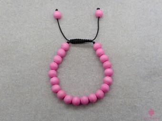 BrMala399 Bracelet Mala de Prières Tibétain Bois. 17 cm
