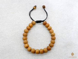 BrMala410 Bracelet Mala de Prières Tibétain Bois