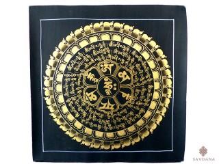 PNT10 Thangka (Peinture Tibétaine) Mandala Om
