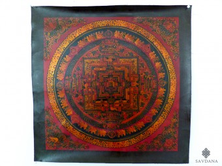 PNT14 Thangka (Peinture Tibétaine) Mandala
