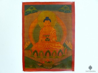 PNT20 Thangka (Peinture Tibétaine) Bouddha