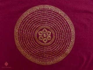 TSrt57 T-Shirt Mantra Mandala