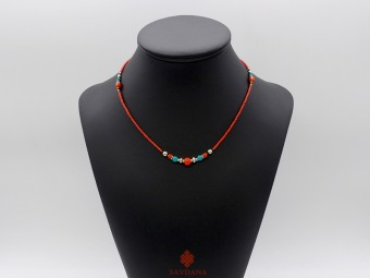 CD150 Collier Tibétain 45 cm