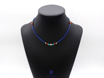 CD153 Collier Tibétain 45 cm