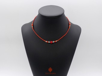 CD154 Collier Tibétain 44 cm